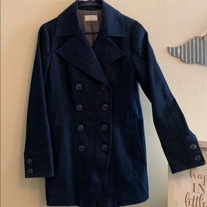 Like new denim trench coat